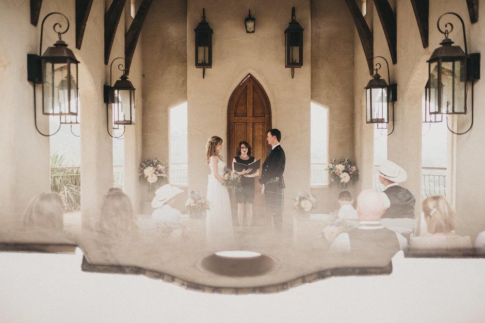 A wedding at Chapel Dulcinea in Austin, TX