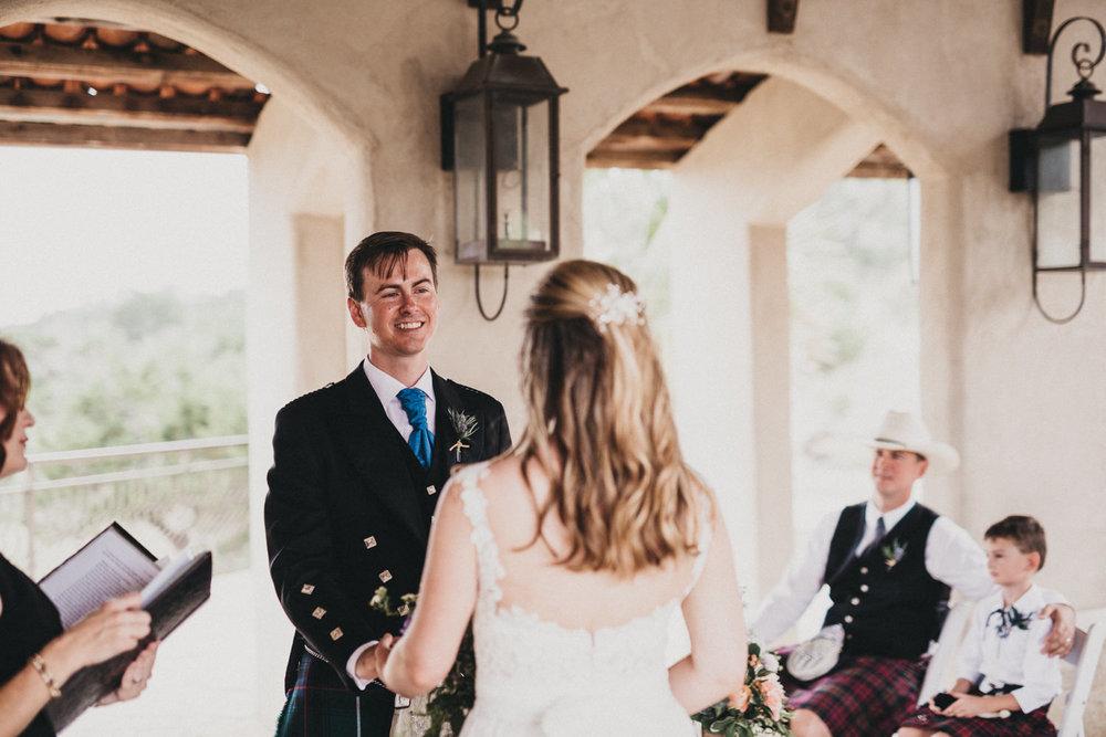 Wedding Ceremony at Chapel Dulcinea