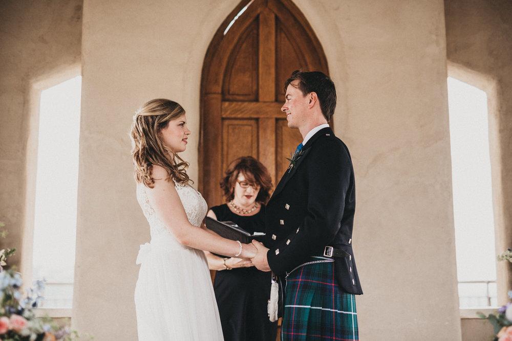 A Scottish Wedding at Chapel Dulcinea
