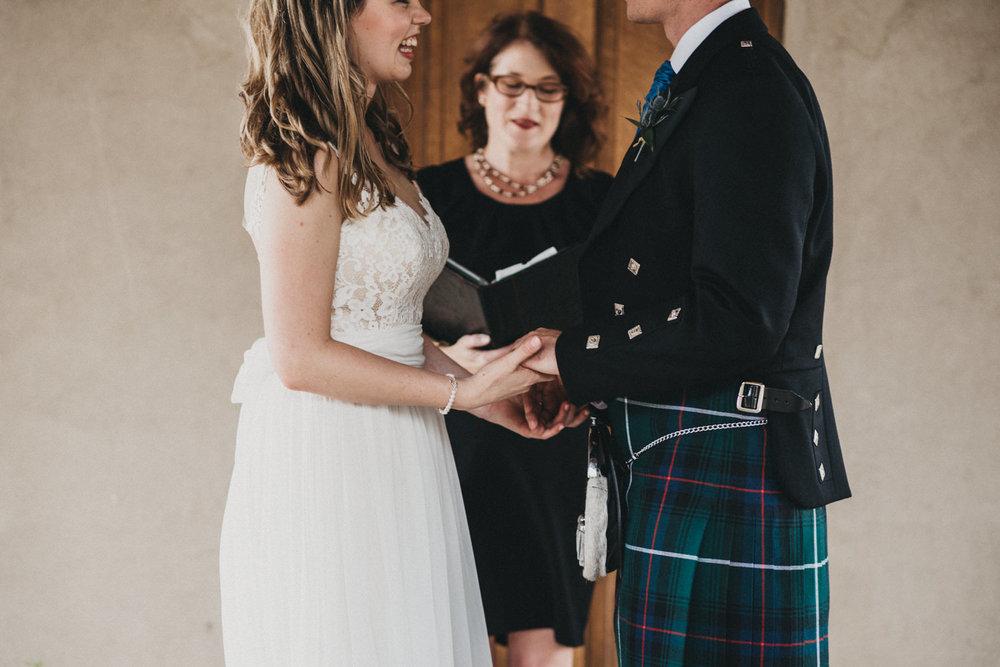 Wedding Ring Exchange in Austin
