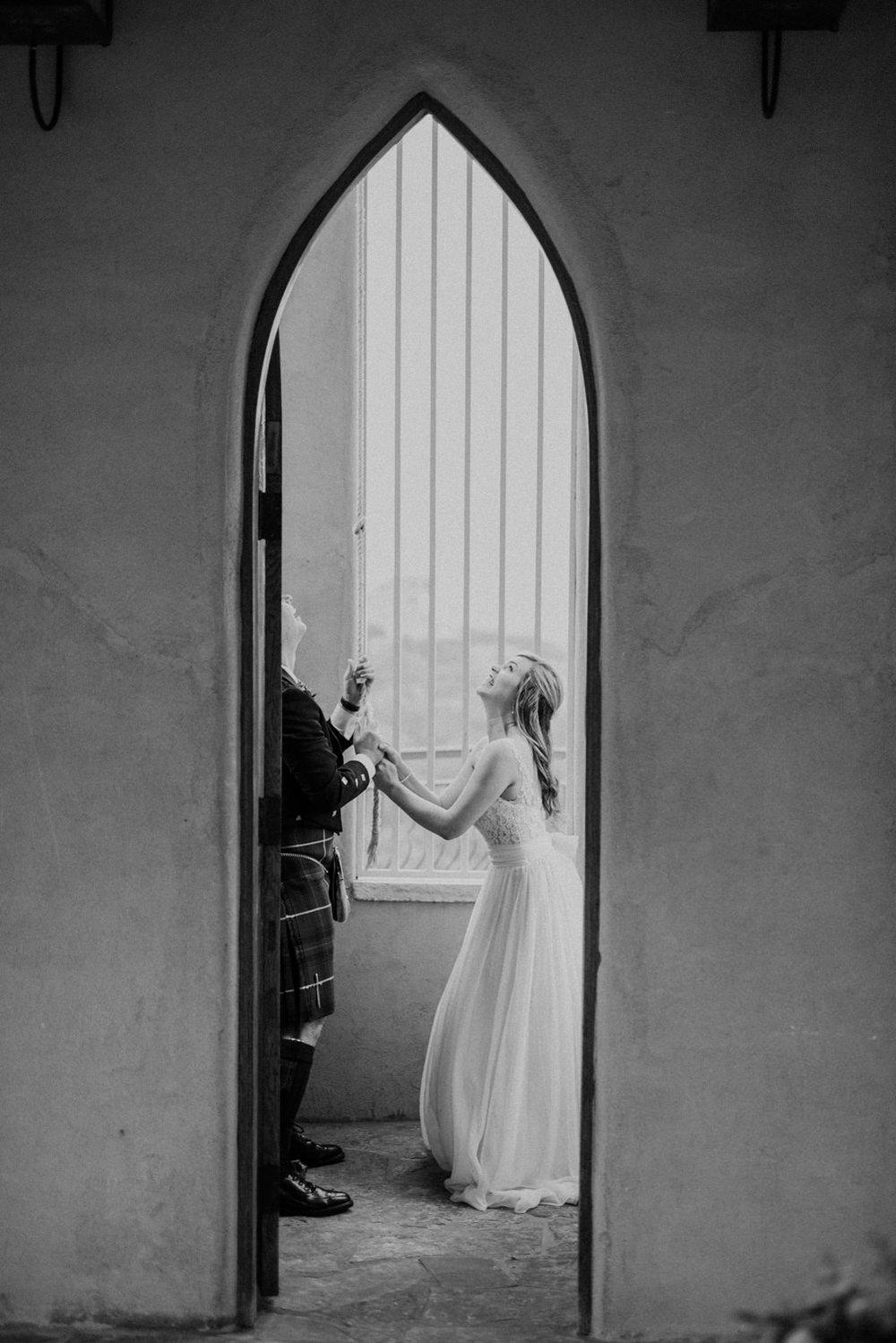 Ringing Wedding Bells at Chapel Dulcinea