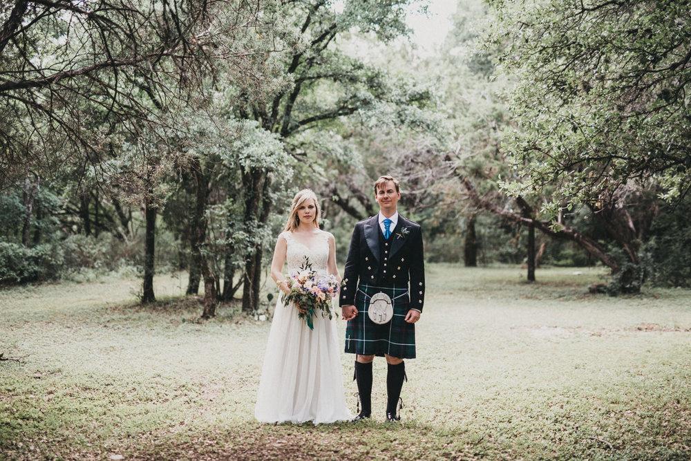 Wedding Portraits in Austin, TX