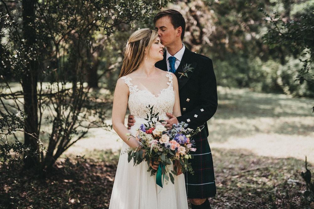 Scottish Wedding in Texas