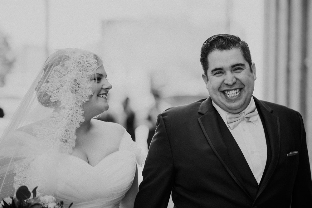Happy Couple at San Antonio Wedding