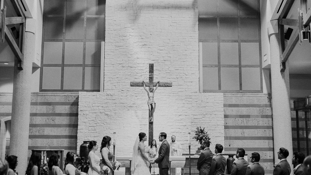 Houston Catholic Wedding