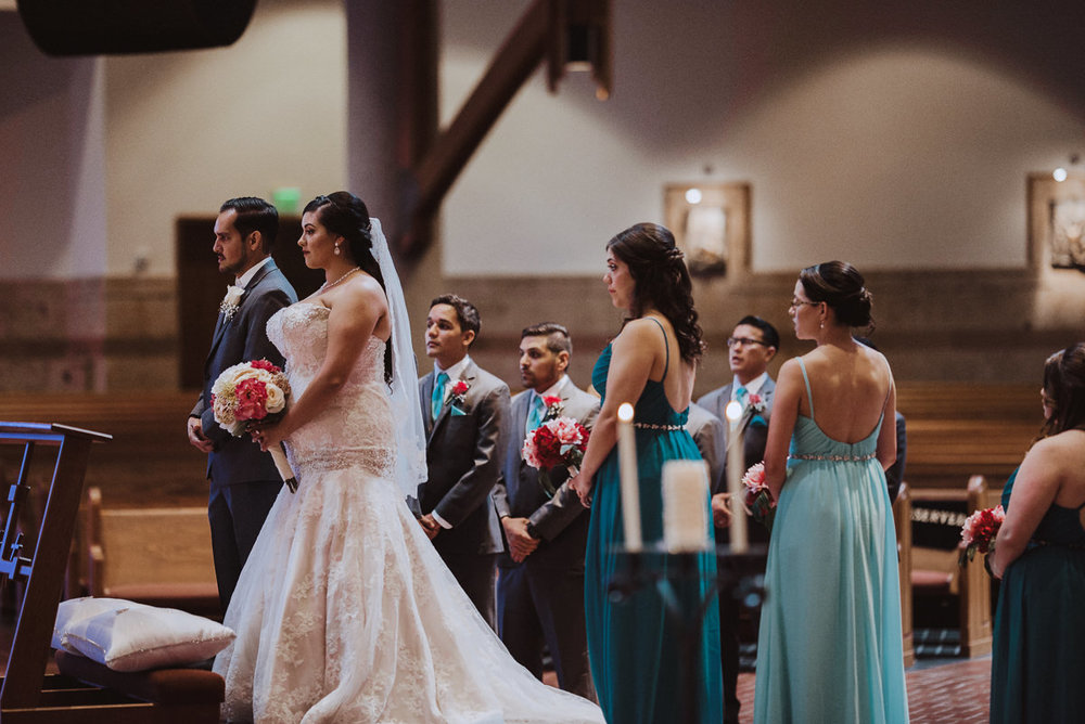 Houston Catholic Church Wedding
