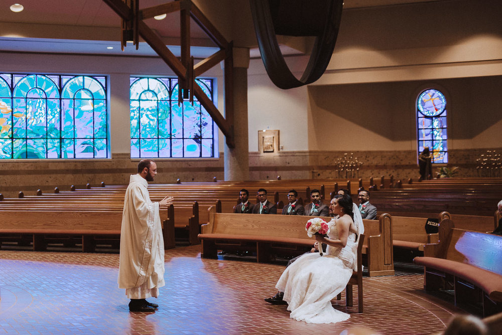 St Helen Pearland Wedding Ceremony