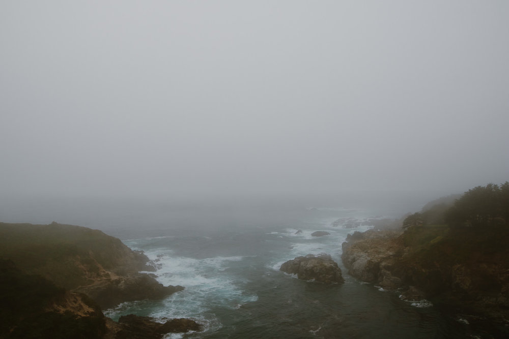 Big Sur in the rain