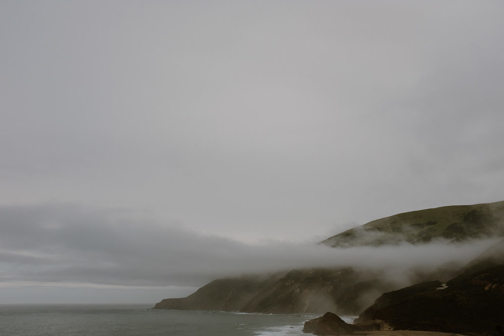 Big Sur Cloudy Day