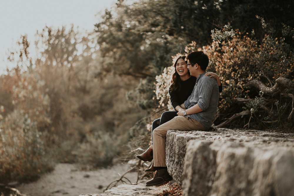Bull Creek Engagement Photos