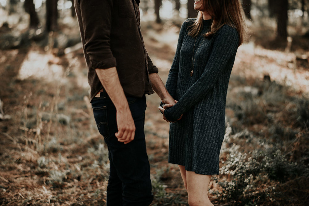 Texas Lost Pines Forest Couples Photos