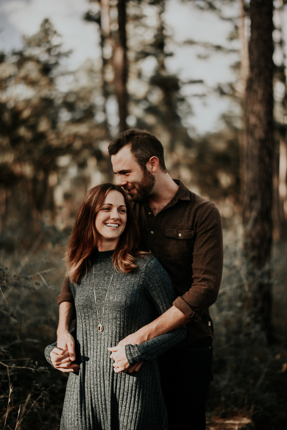 Beautiful Couple Adventure Engagement Photos