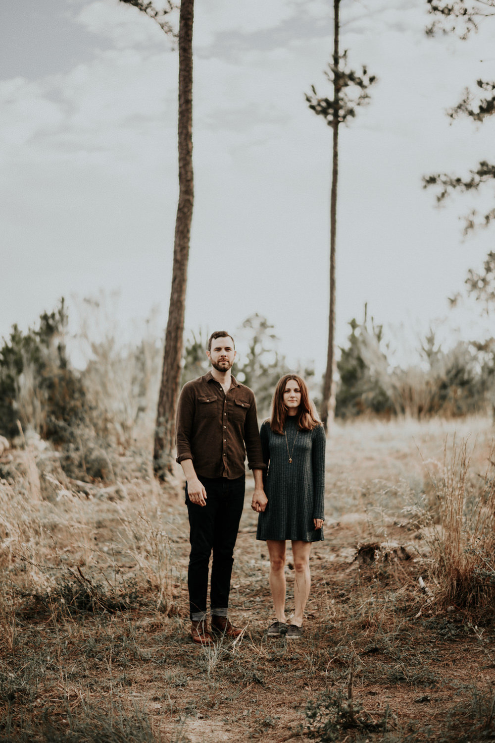 Bastrop State Park Texas Engagement Session