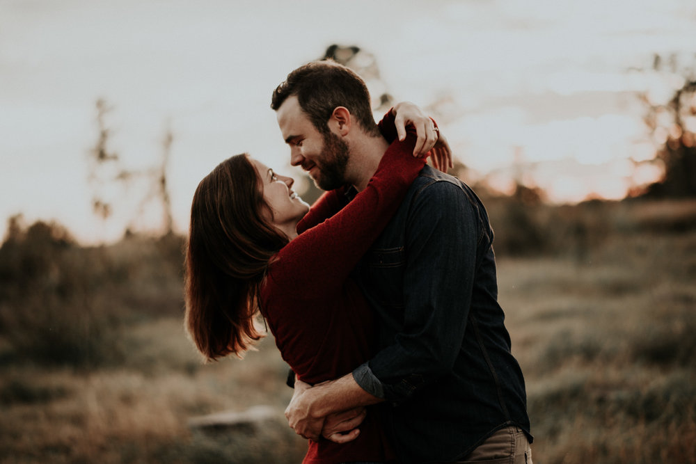 Engagement Session at Sunset in Austin Texas