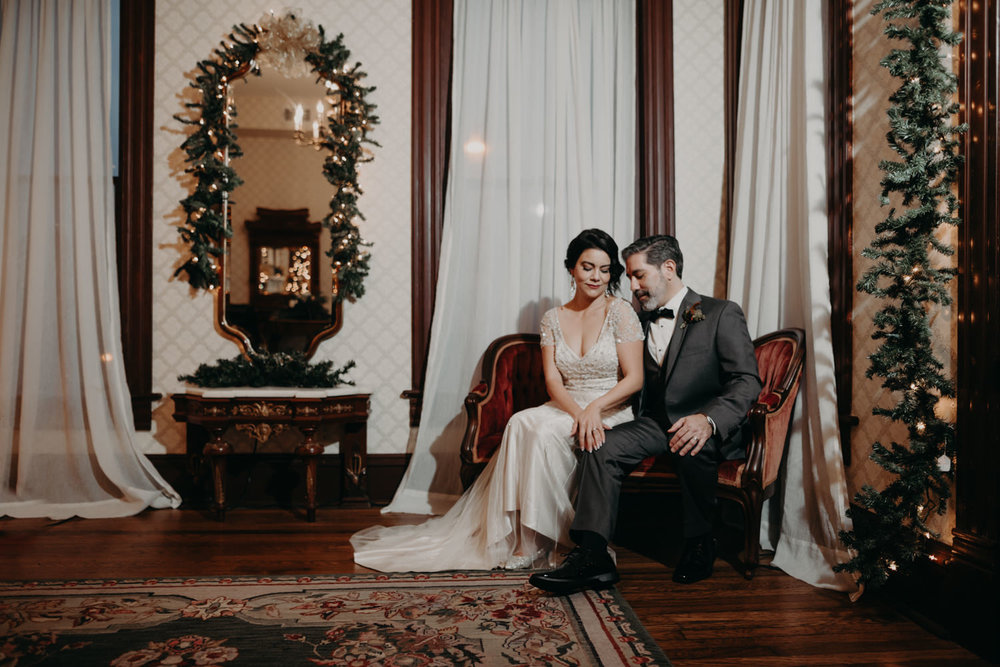caswell house wedding portraits