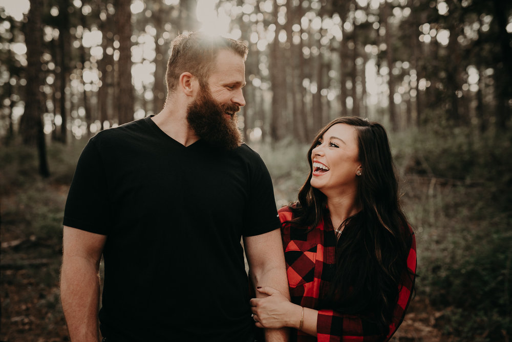 nature engagement photos at bastrop state park