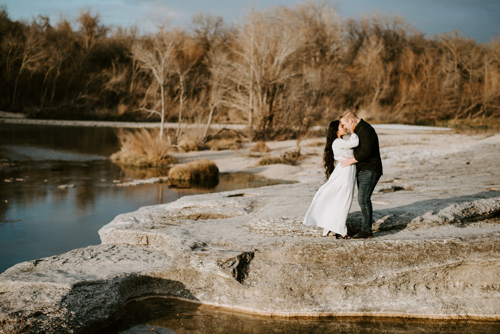 nature engagement photos in austin texas