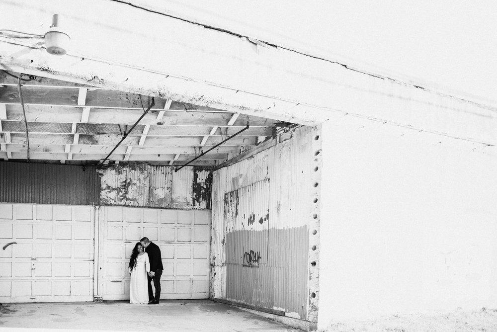 East austin industrial building engagement picture