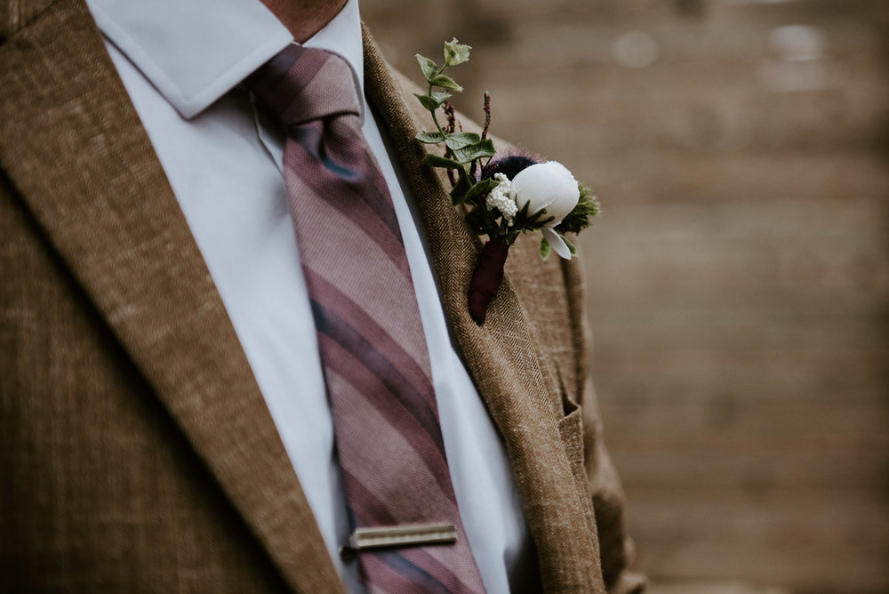 groom details at austin wedding