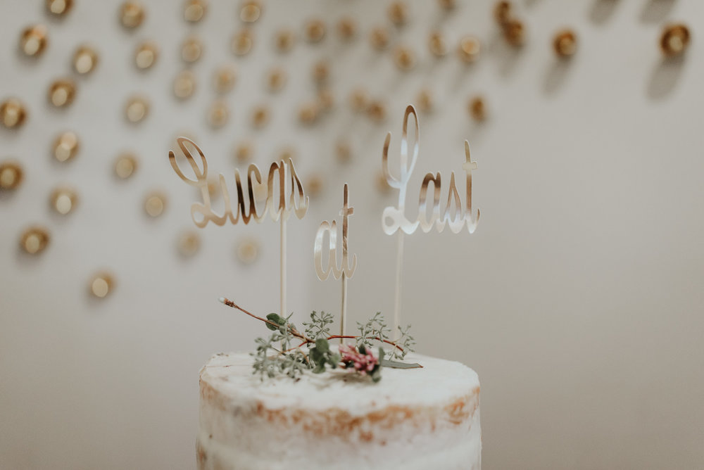 diy wedding topper