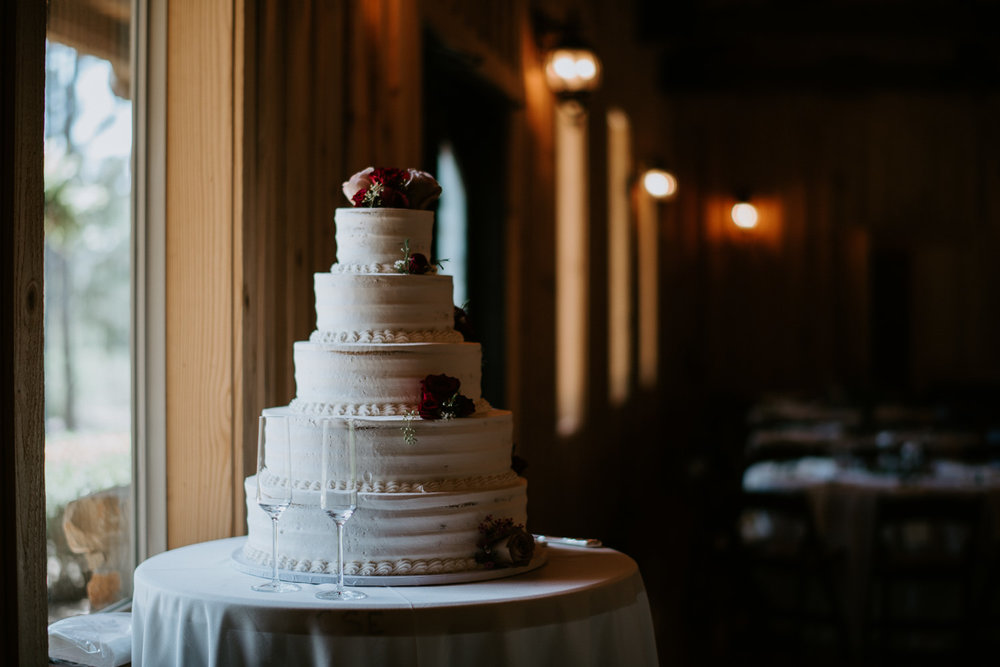 Roland's Swiss Pastry and Bakery Wedding Cake