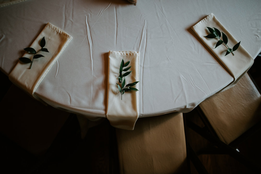 houston wedding table setting