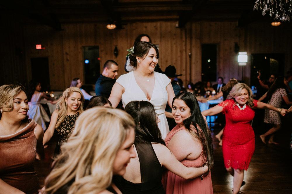 Vivora de la mar at houston texas wedding reception