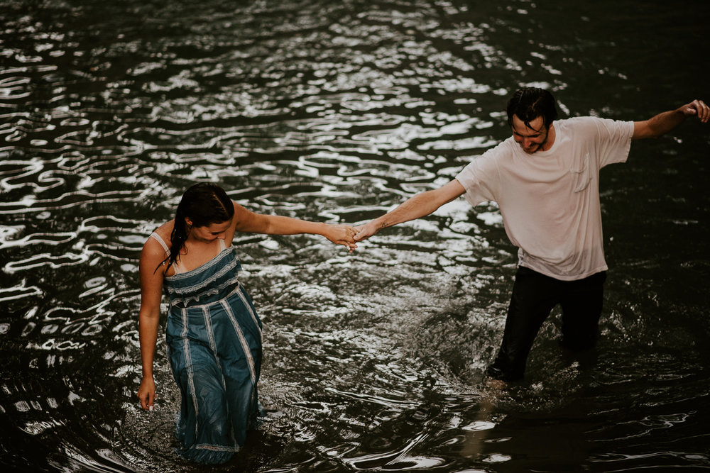 sunset engagement session in san marcos