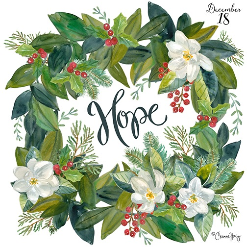 Hope Wreath by Corinne Haig