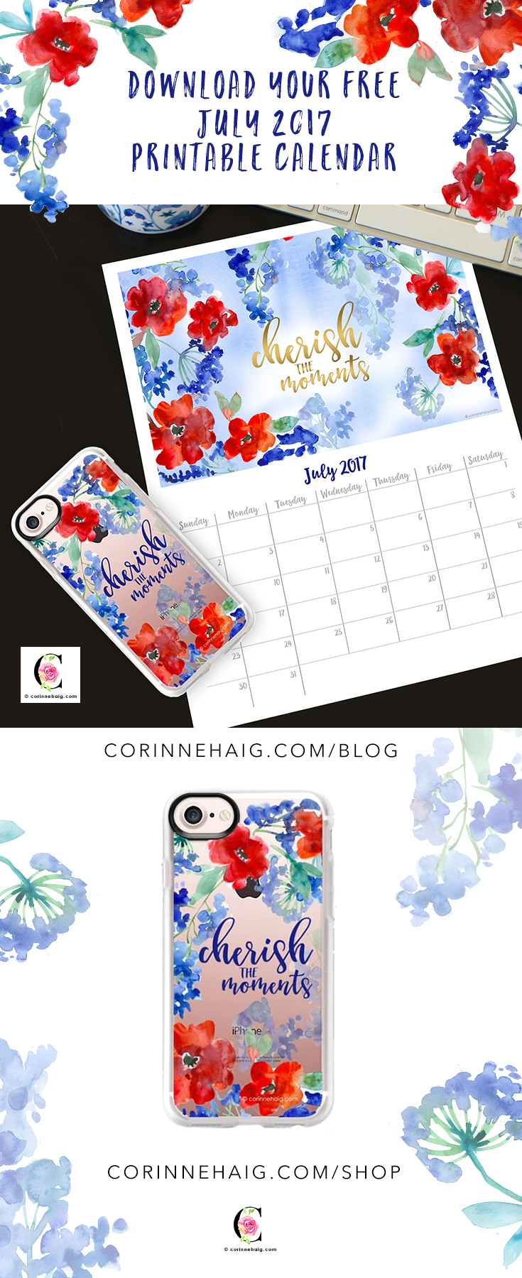 © corinne-haig-watercolor-calendar-phonecase