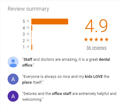 Click to check out our reviews on Google