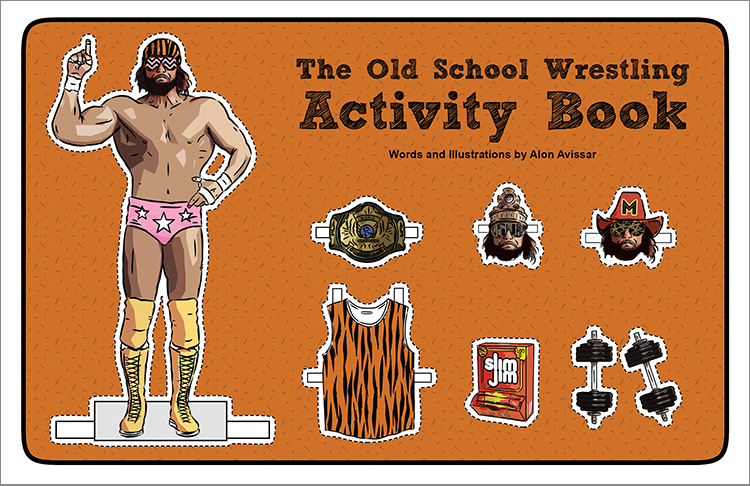 Alon Avissar The Old School Wrestling Activity Book.jpg