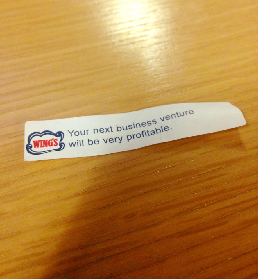 (This is an actual fortune I got a couple weeks ago)