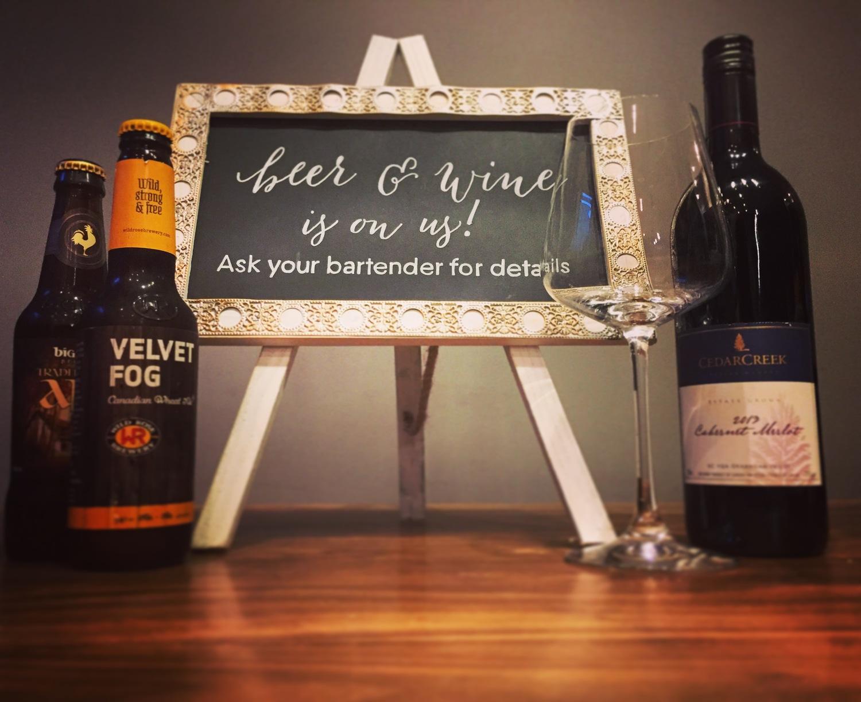 Fantastic Wedding Bar Menu Signs — Chalkboards & Co. YZ43