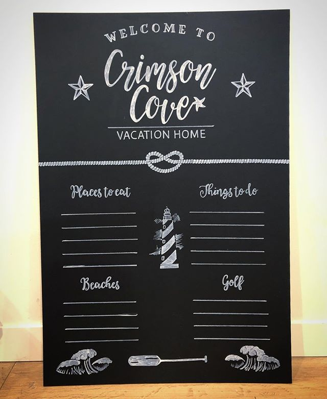 Finished this board today for Crimson Cove! Can't wait to see it come to life with suggestions of fun things! #chalkboardart #smallbusiness #handlettering #torontoweddings