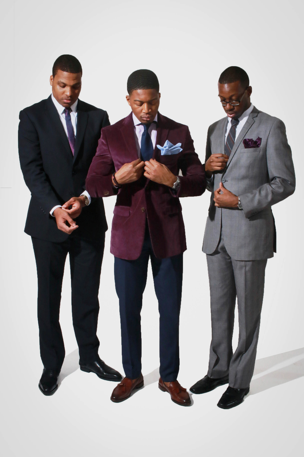 CB, Joshua and TJ (left to right)