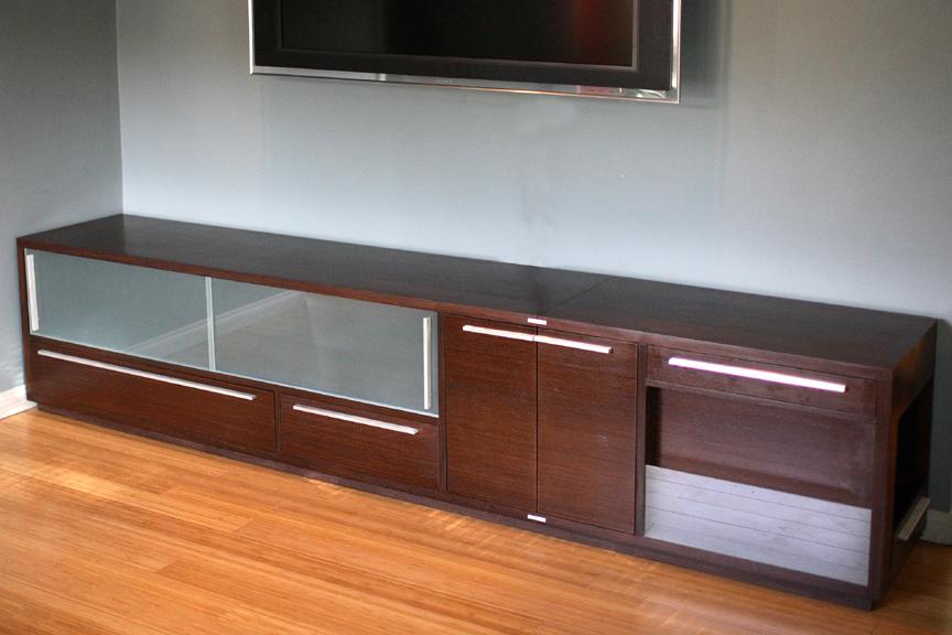 built in media cabinets