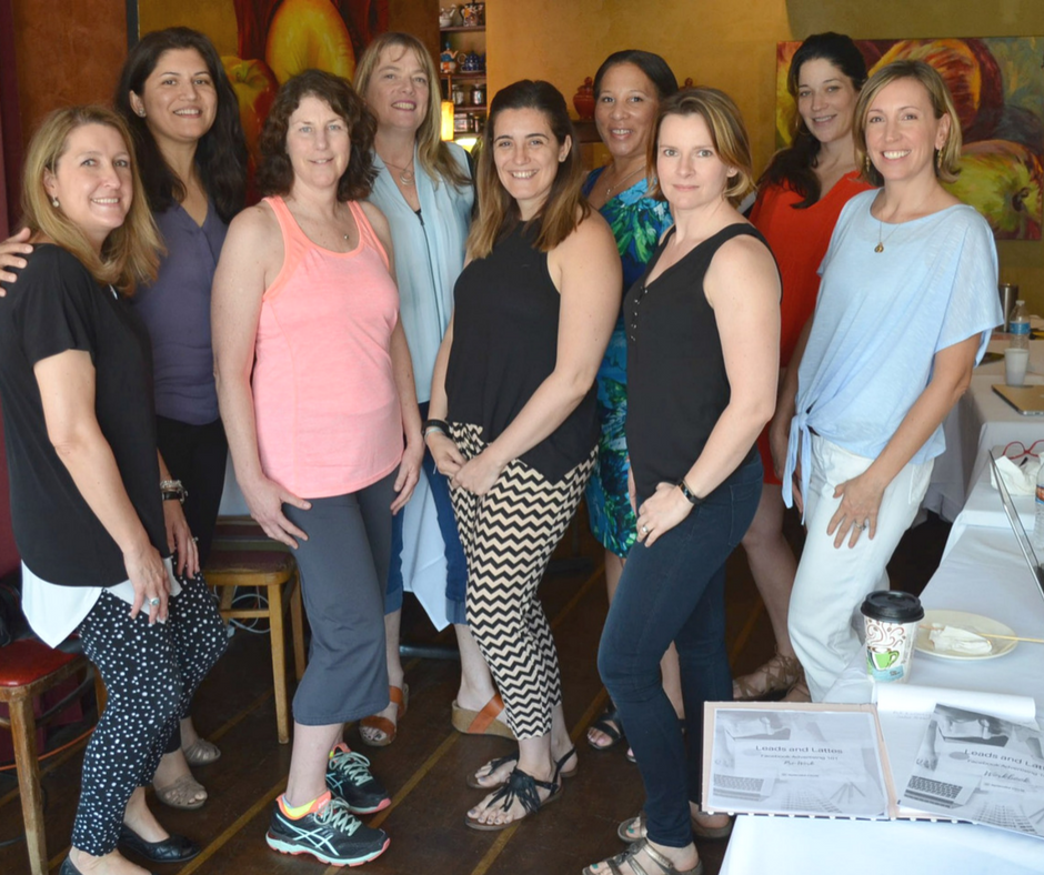 Local Millburn, Short Hills, South Orange, West Orange NJ based Women Entrepreneurs in attendance at my Facebook Advertising Workshop (Leads and Lattes)