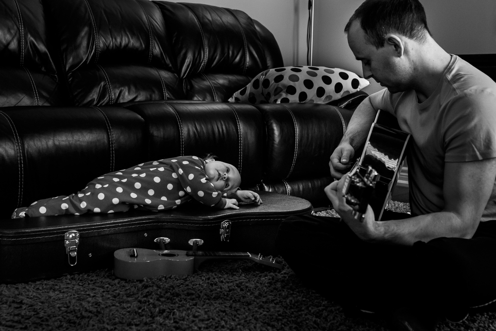 We love music in our family, so seeing Elizabeth enjoy her daddy playing guitar still pulls at my heart strings.