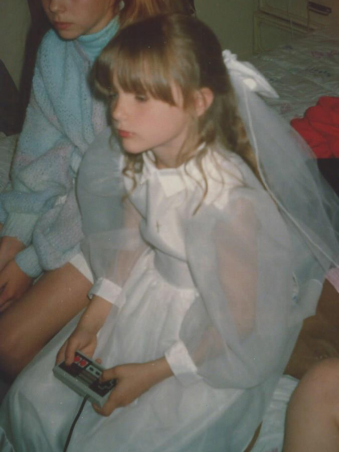 Nintendo was my jam. Super Mario a particular favourite. Even my first communion party couldn't compete.