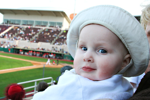 Micah and Mississippi State baseball