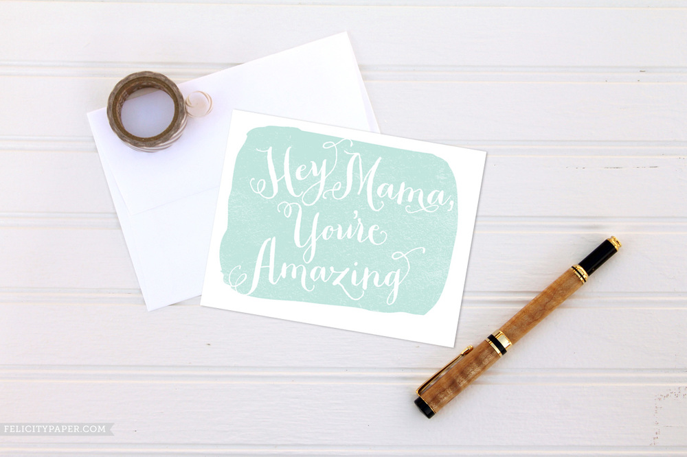 free, freebie, diy, mother's day, mother, mama, mom, amazing