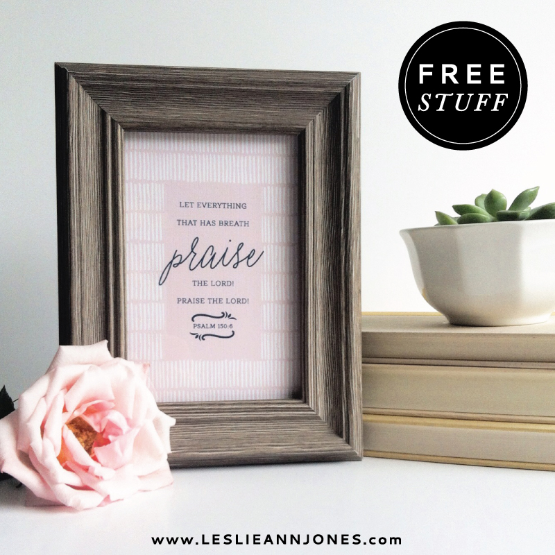 The Leslie Ann Jones Free Printable Library