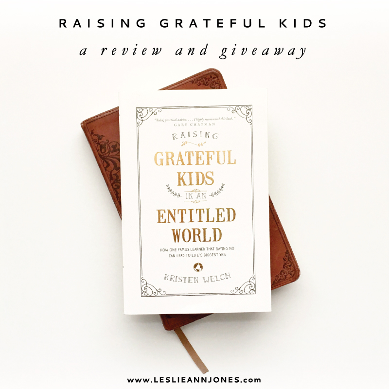 Raising Grateful Kids Review