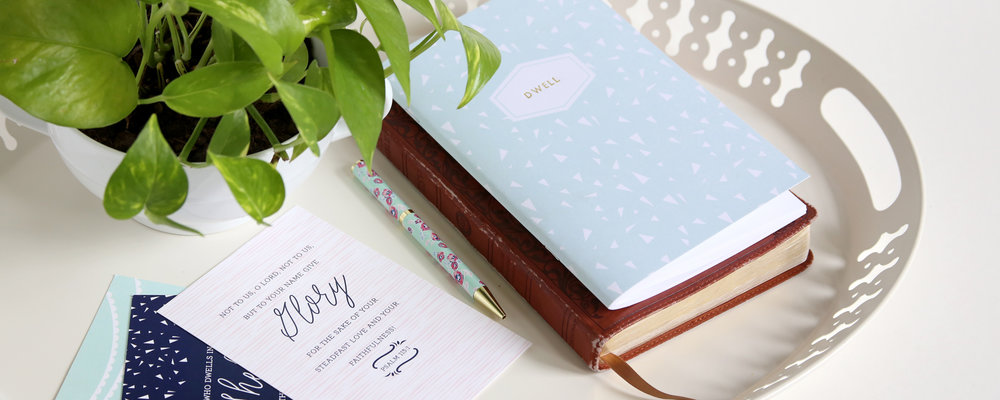 Bible studies, journals, mugs, scripture cards, paper goods, and gifts to encourage and inspire from Christian designer and writer Leslie Ann Jones.