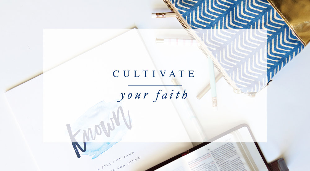 Cultivate Your Faith with Dwell Bible Atudies by Leslie Ann Jones.
