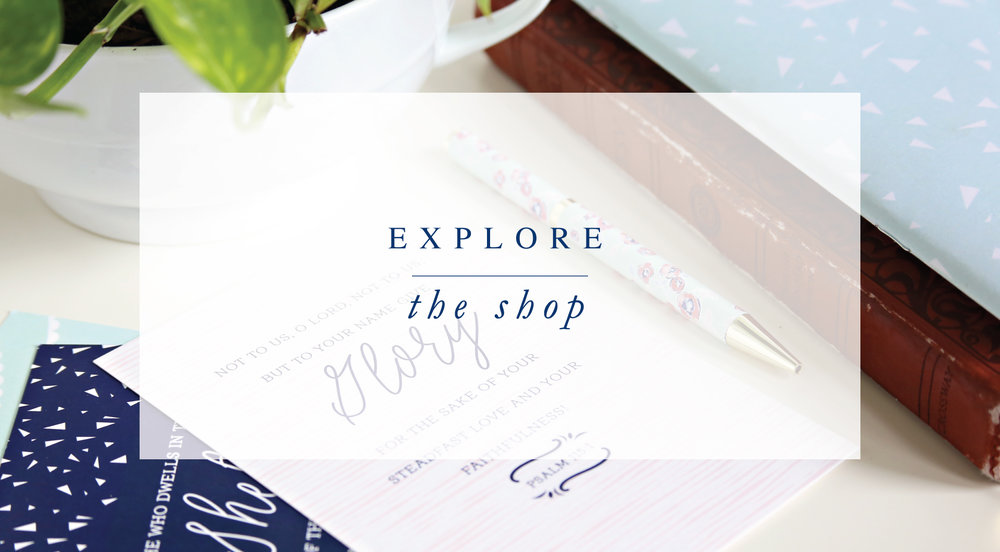 Explore the Shop. Christian gifts, prayer journals, and Bible studies from Leslie Ann Jones.