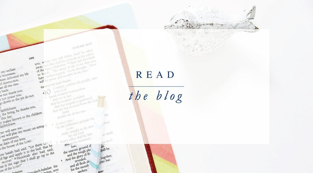 Read the #LAJBlog. Inspiration and encouragement for the Christian life from Leslie Ann Jones.