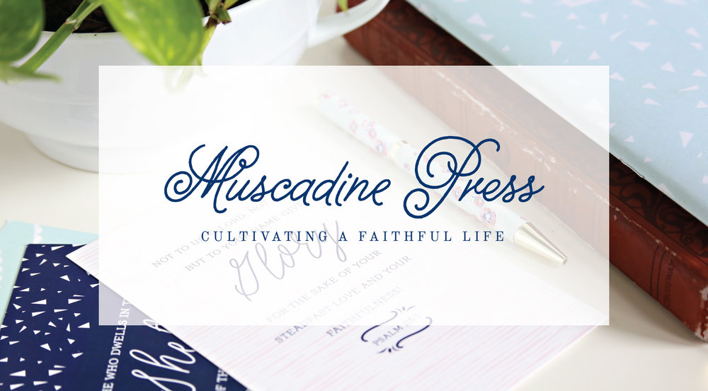 THE LAJ SHOP IS NOW MUSCADINE PRESS! Visit us at muscadinepress.com to explore our collection of Bible study tools, art prints, and inspirational gifts.