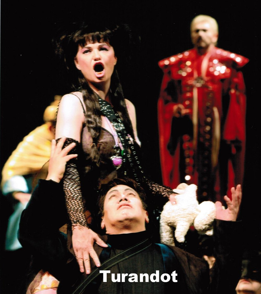 Turandot in Turandot